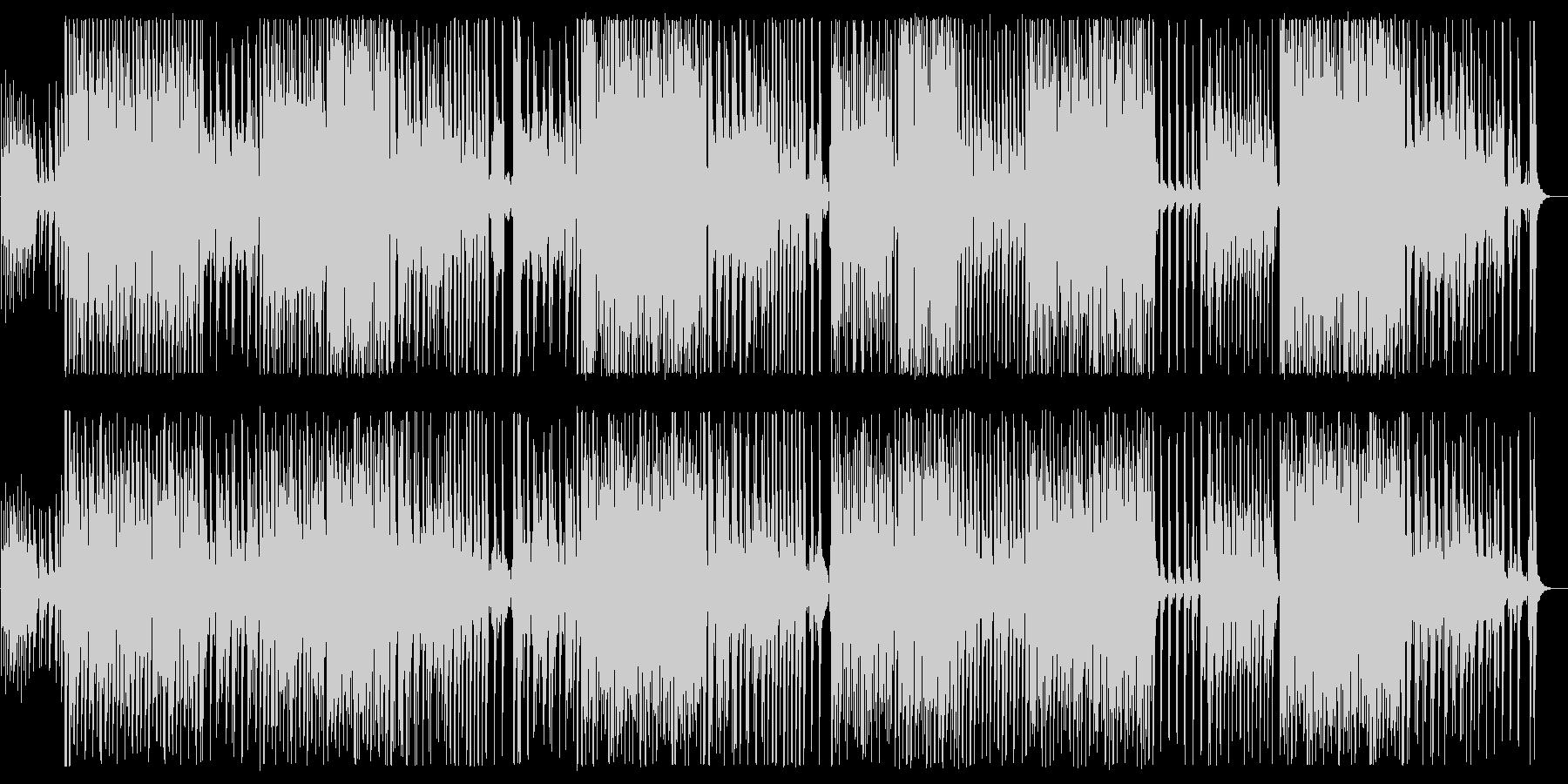 メローで緩やかなワルツ風テクノポップの未再生の波形