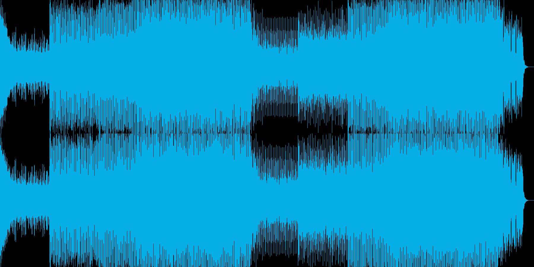 EDMクラブ系ダンスミュージック-95の再生済みの波形