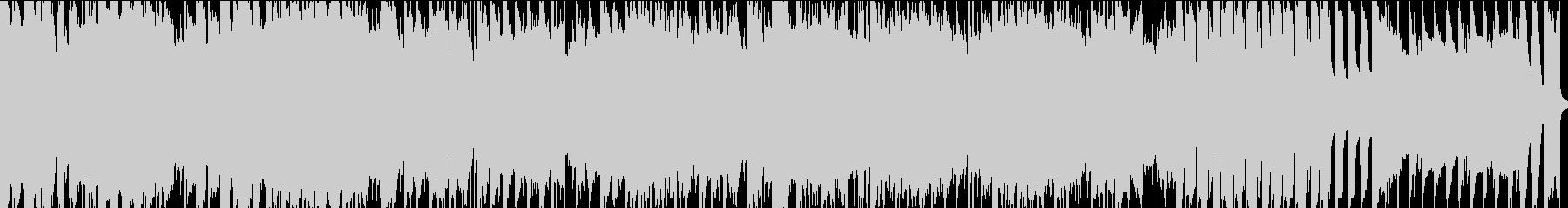 ポップなアコースティックループ音源の未再生の波形