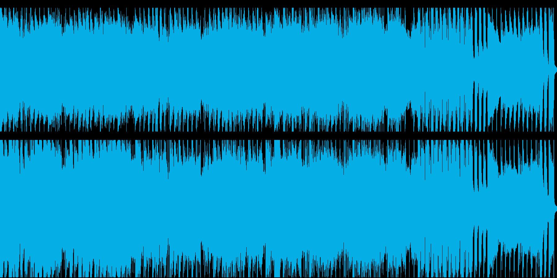 ポップなアコースティックループ音源の再生済みの波形