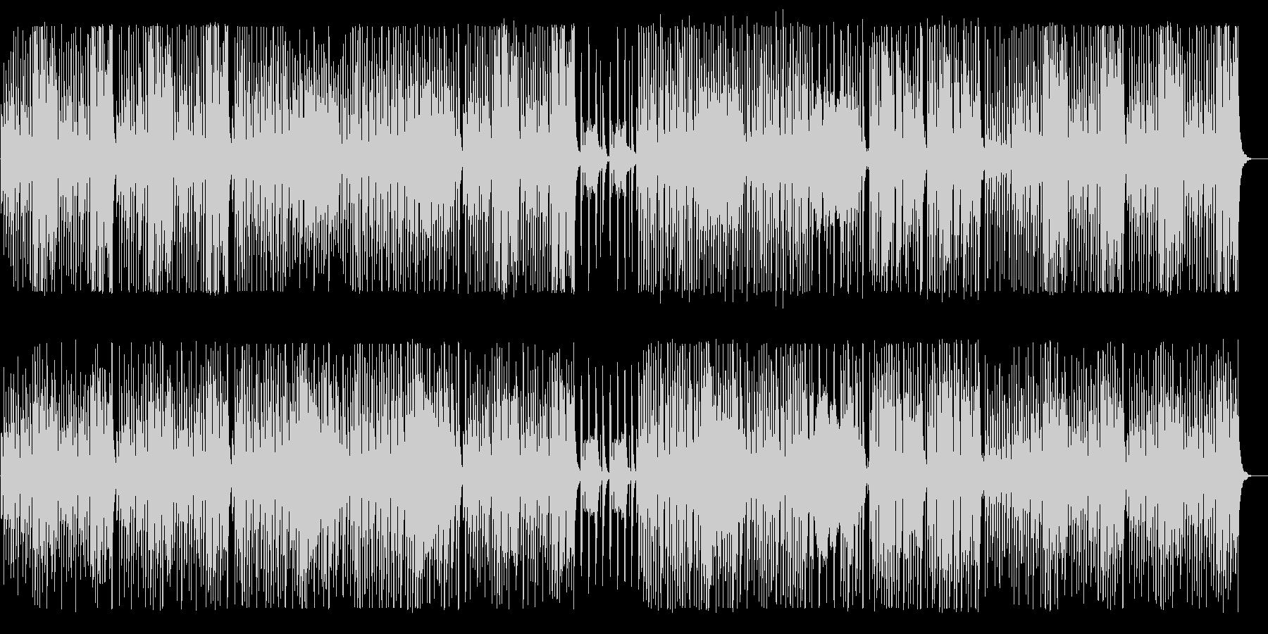 緩やかで優雅なクラシカルワルツ風BGMの未再生の波形