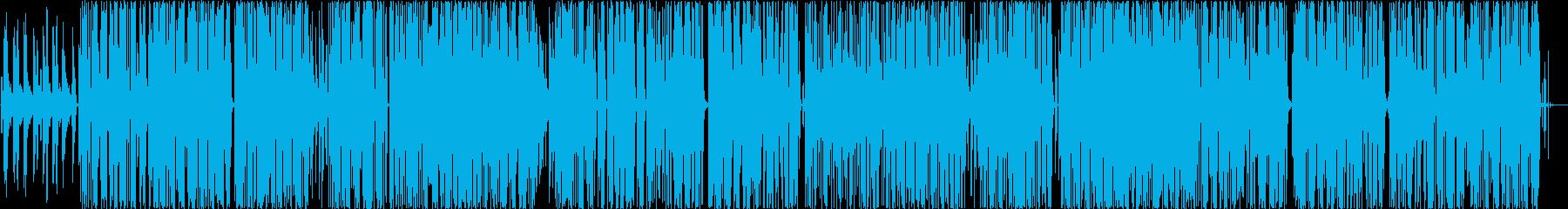 オシャレBGMですの再生済みの波形