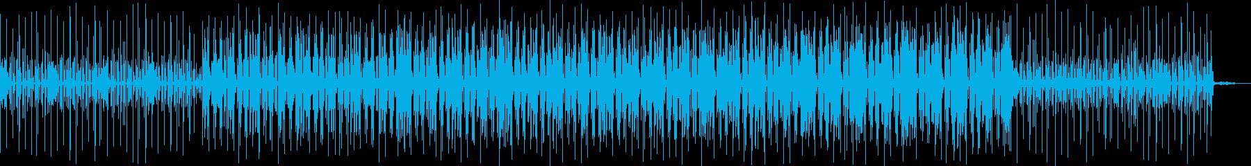 ヒップホップスタイルの楽曲です。ダンサ…の再生済みの波形