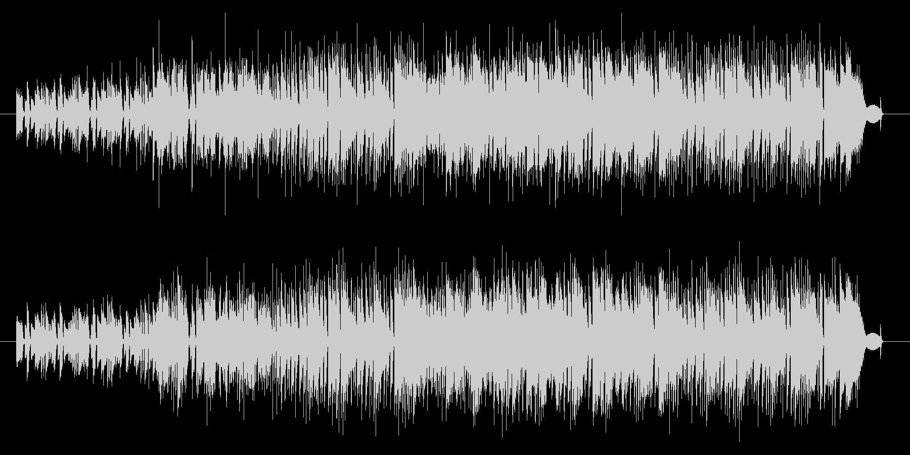 ピアノメインの日常系ポップスの未再生の波形