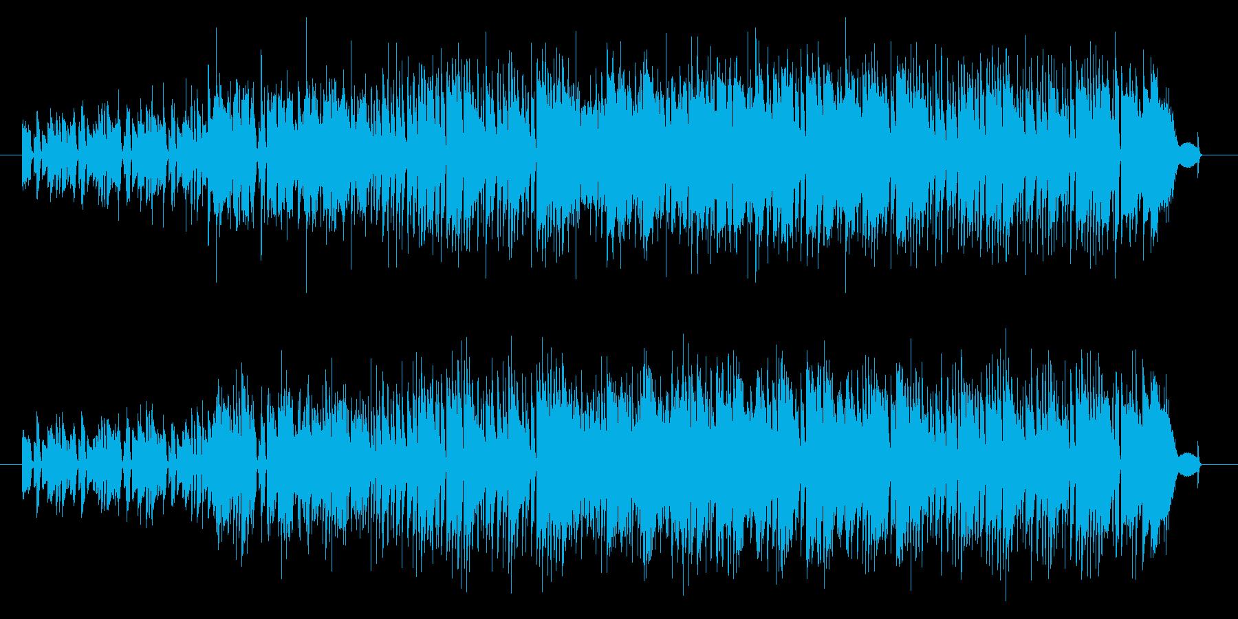 ピアノメインの日常系ポップスの再生済みの波形