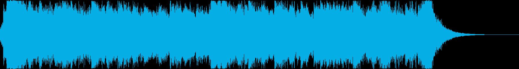 幻想的ピアノ_壮大なファンタジー_短いの再生済みの波形