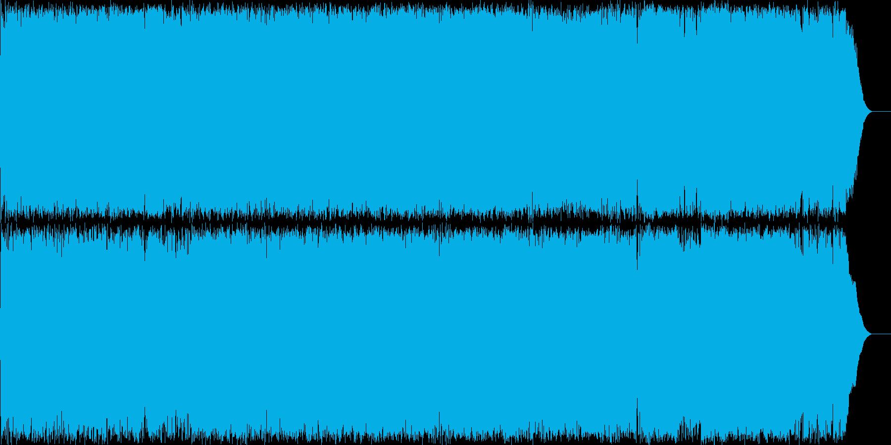 夏のCMに最適な爽やかな楽曲です。の再生済みの波形