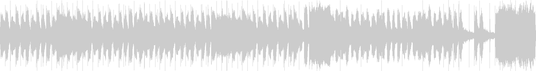 コミカル かわいい ループ2の未再生の波形