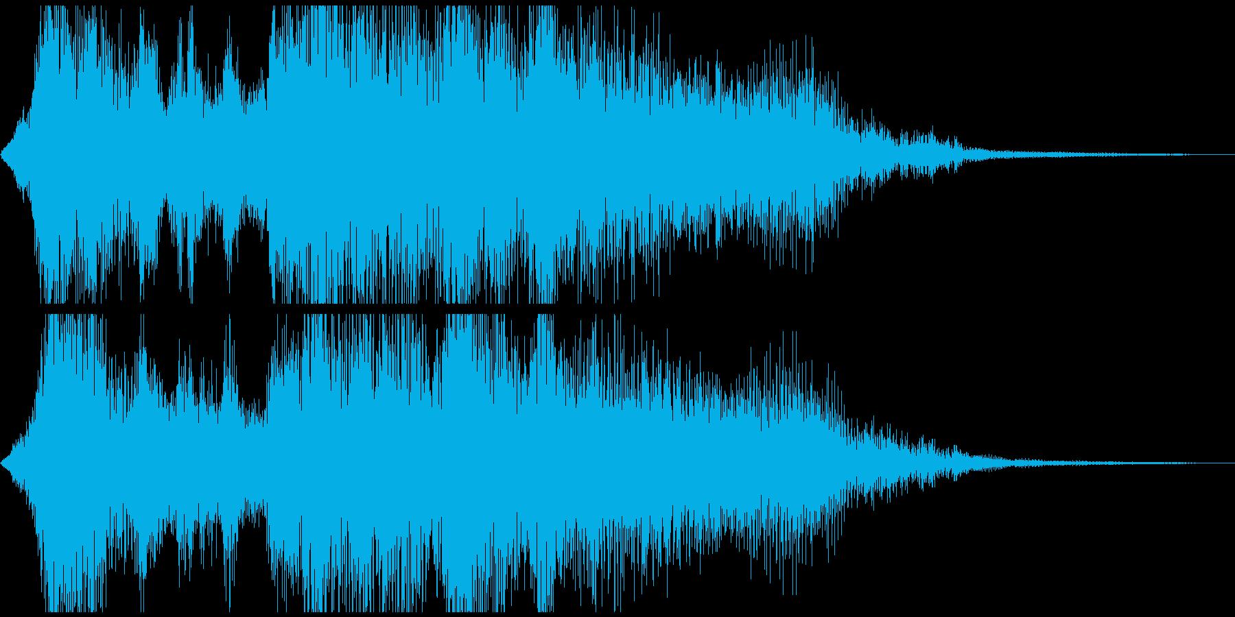 ファンタジーな勝利ジングル 5秒の再生済みの波形