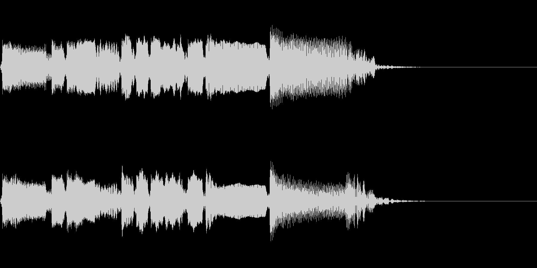 Guitarジングル6/ブルージーの未再生の波形