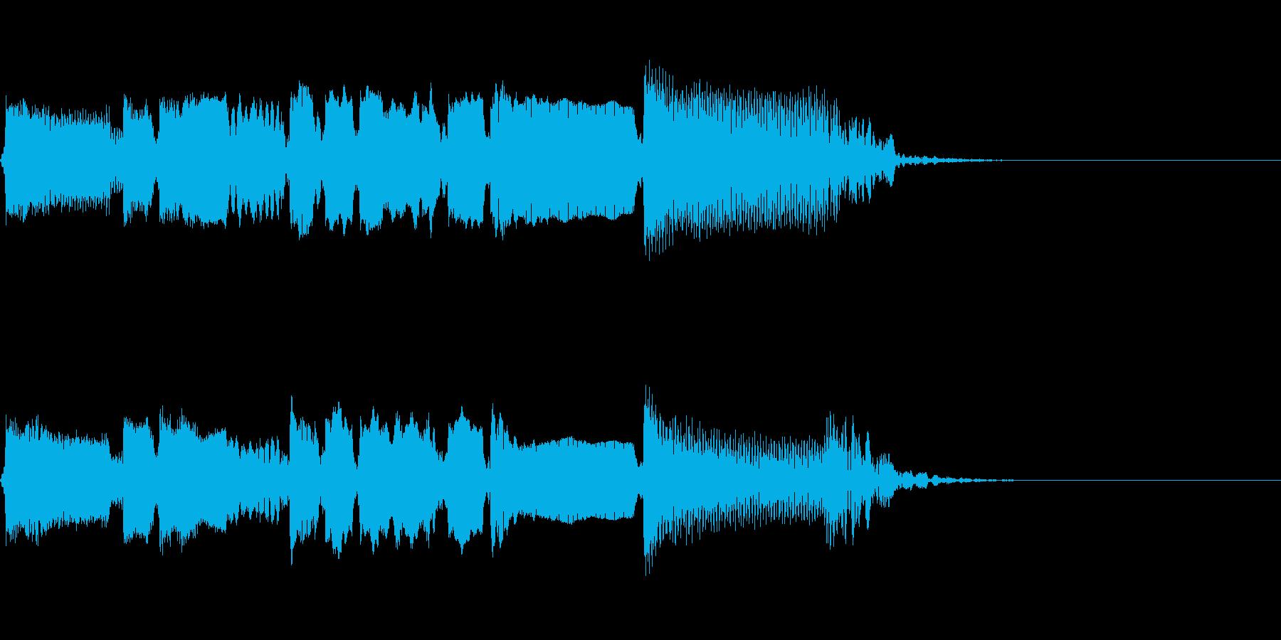 Guitarジングル6/ブルージーの再生済みの波形