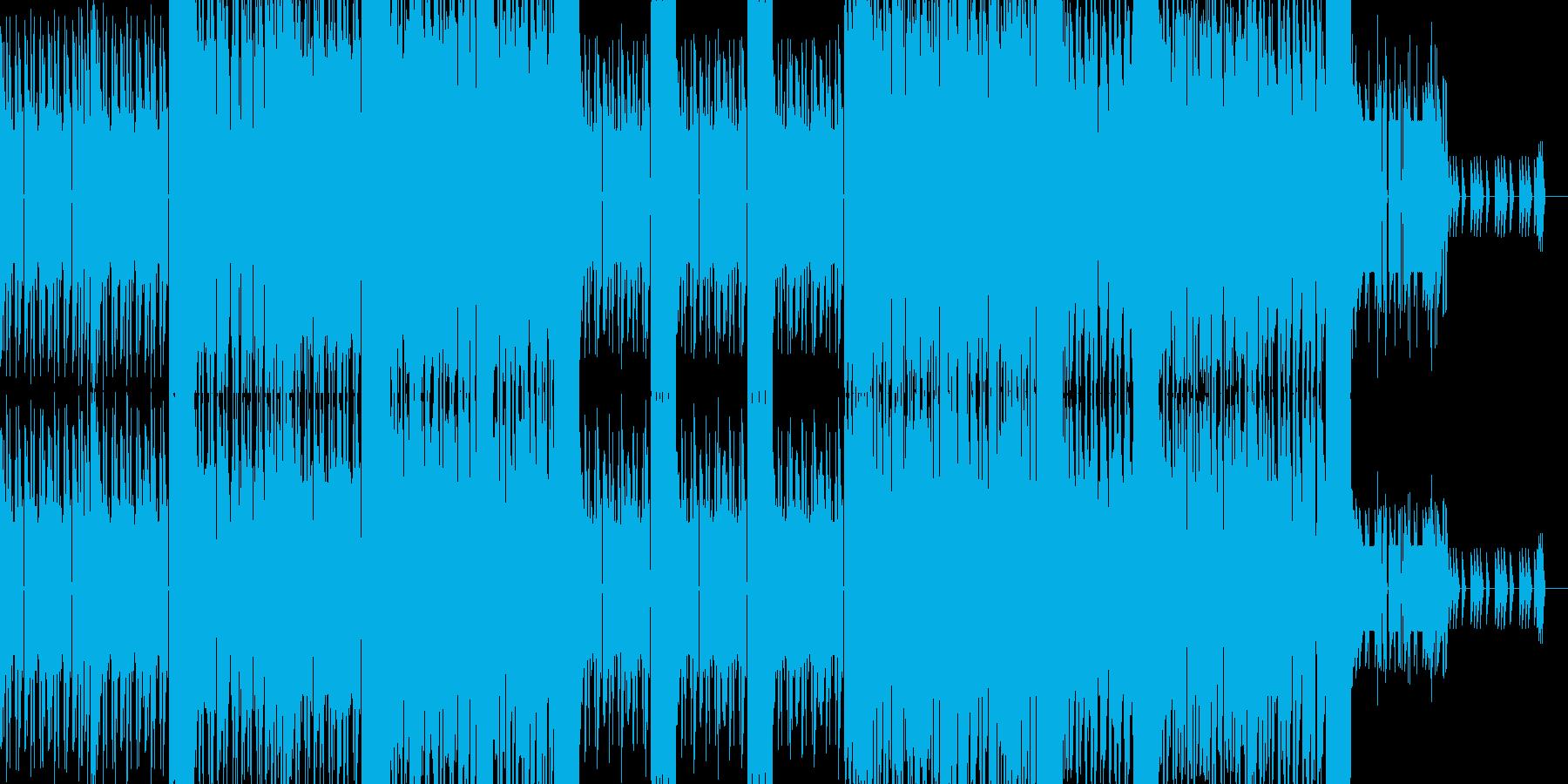 ポップなダンス風8bitチップチューンの再生済みの波形