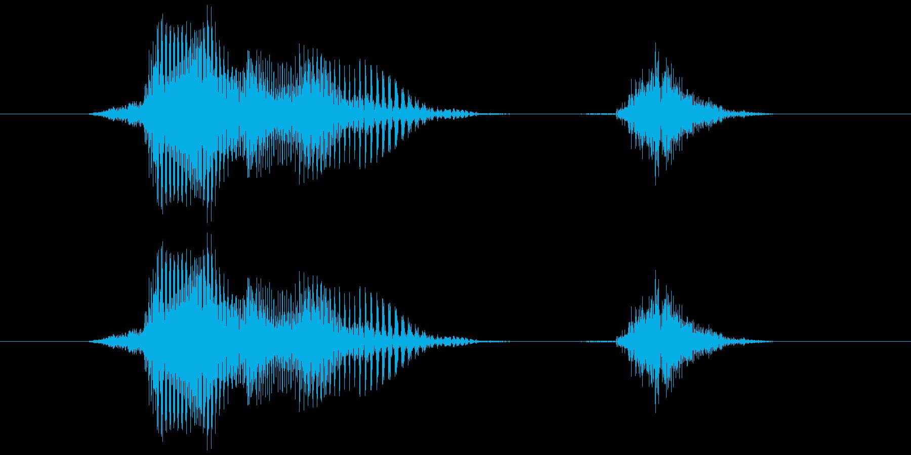 ファイトの再生済みの波形