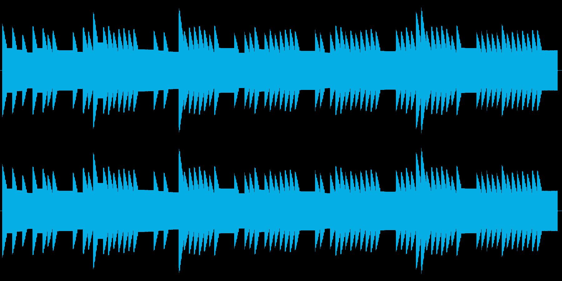 横断歩道 誘導音02-1の再生済みの波形