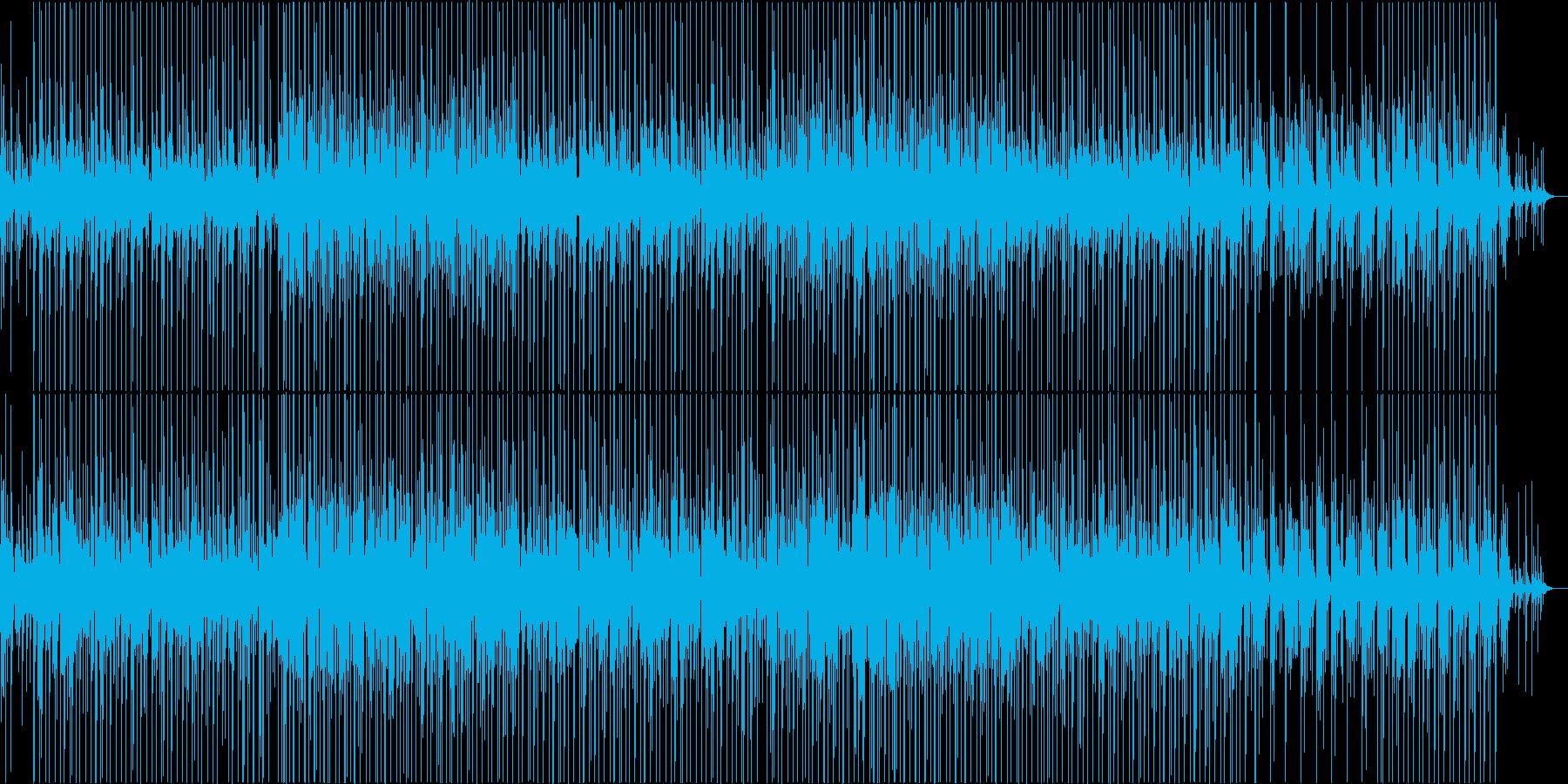 アンニュイな雰囲気の夏向けBGMの再生済みの波形