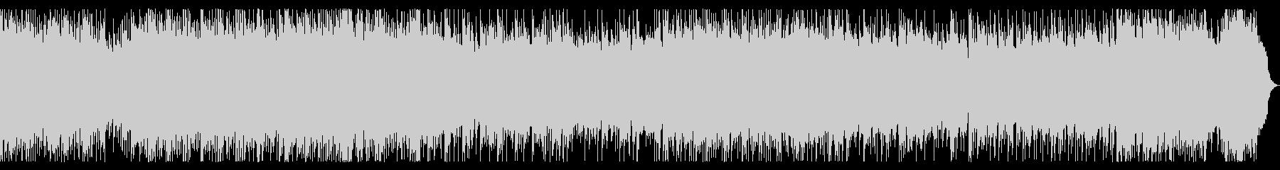 リフ、バッキング主体のメタル 戦闘曲の未再生の波形