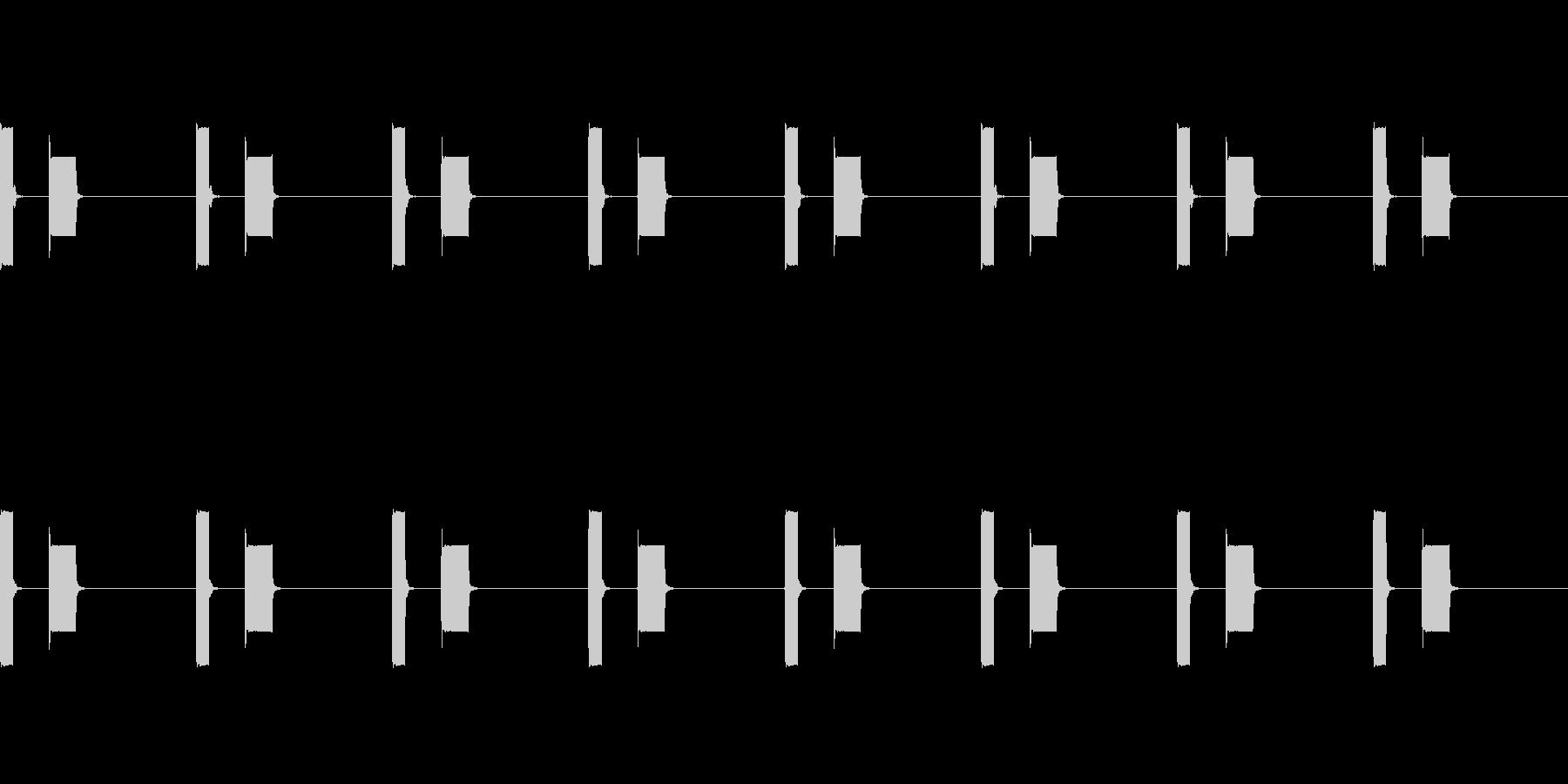 【誘導音 横断歩道01-1L】の未再生の波形
