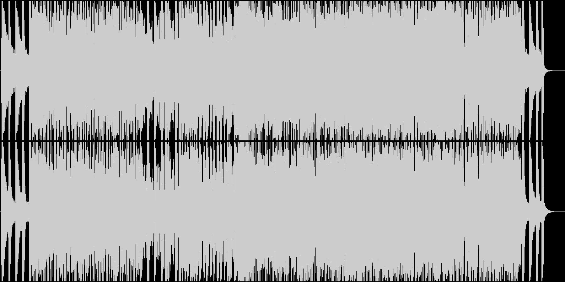 女性Vo★アニソン風、病的、中二病曲♪ の未再生の波形