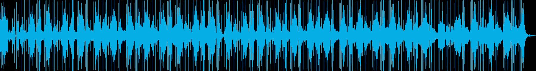 お洒落な洋楽風の壮大なヒップホップの再生済みの波形