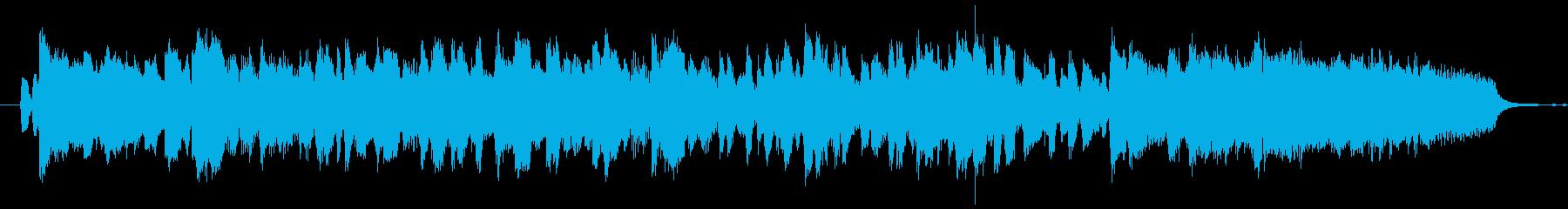 ハーモニカ生演奏アラビアンポップソロの再生済みの波形