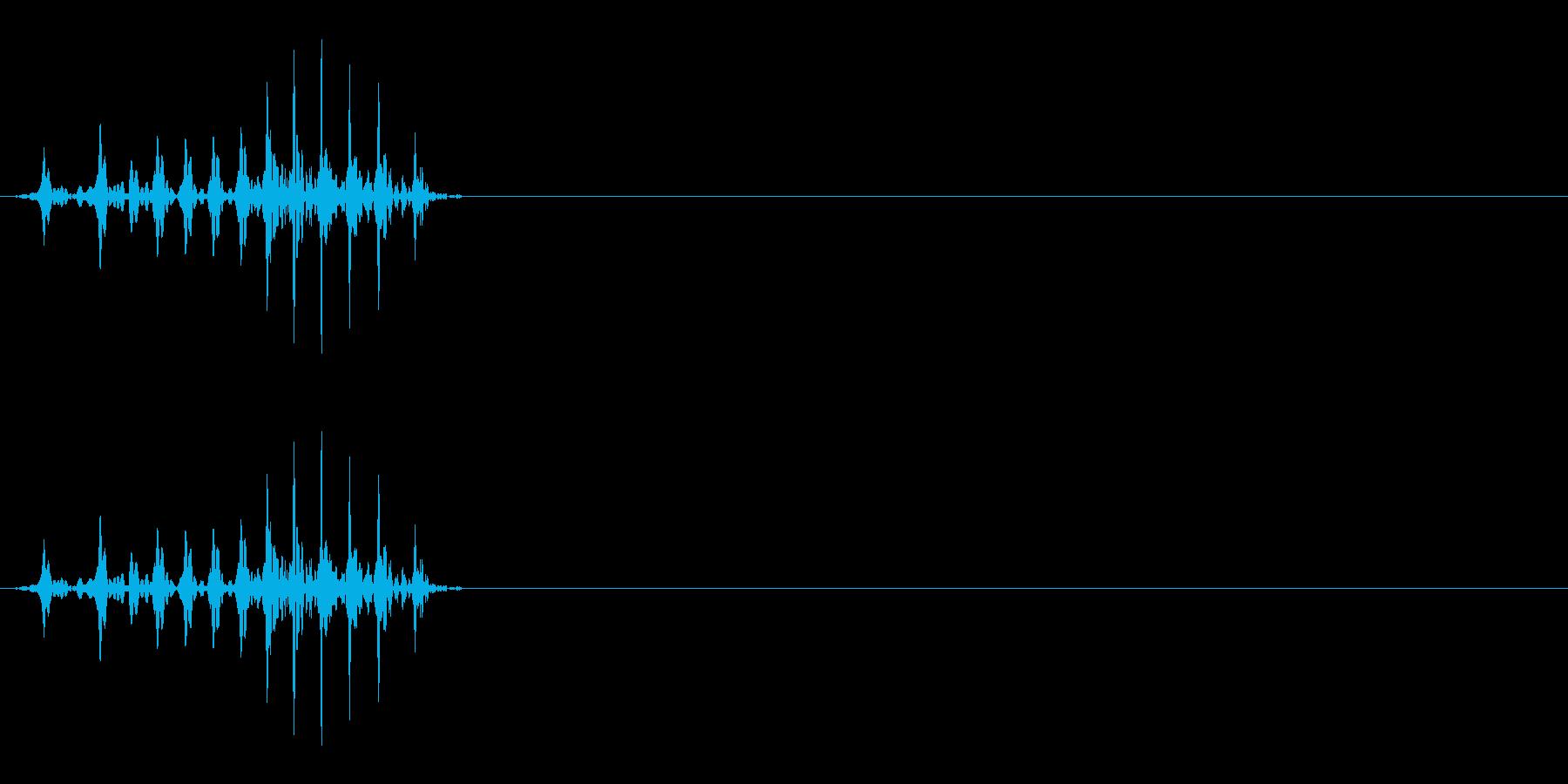 ロッ6(六)中国語(広東)20代男の再生済みの波形