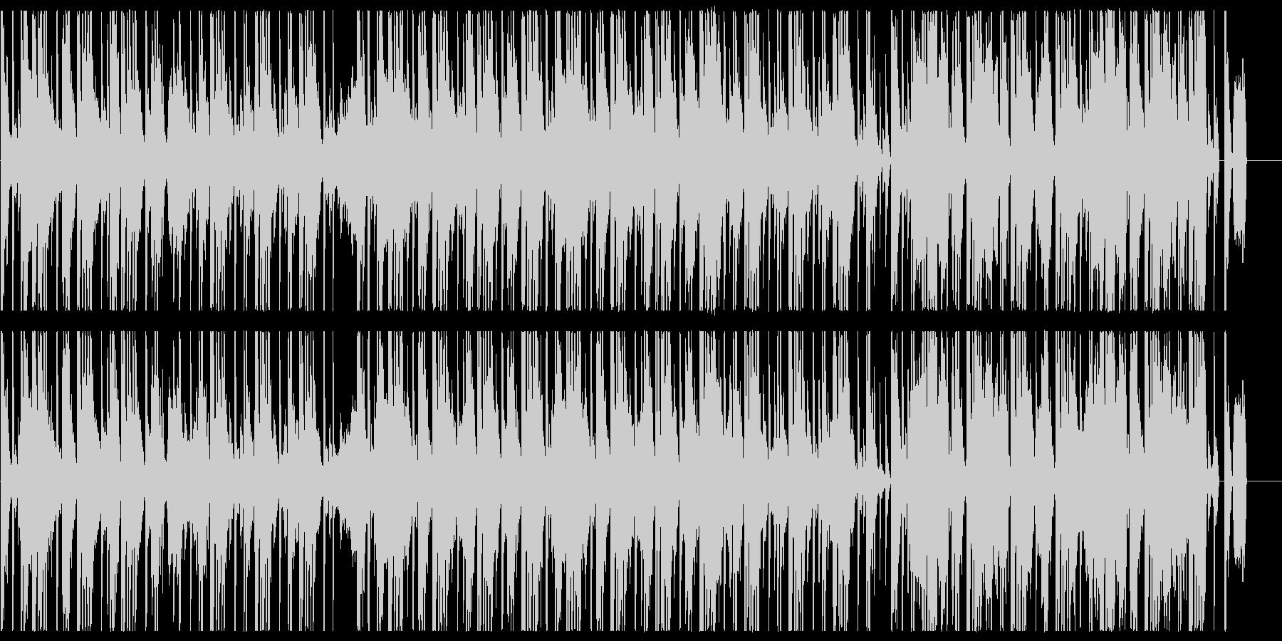 スモーキーでアナログなヒップホップBGMの未再生の波形