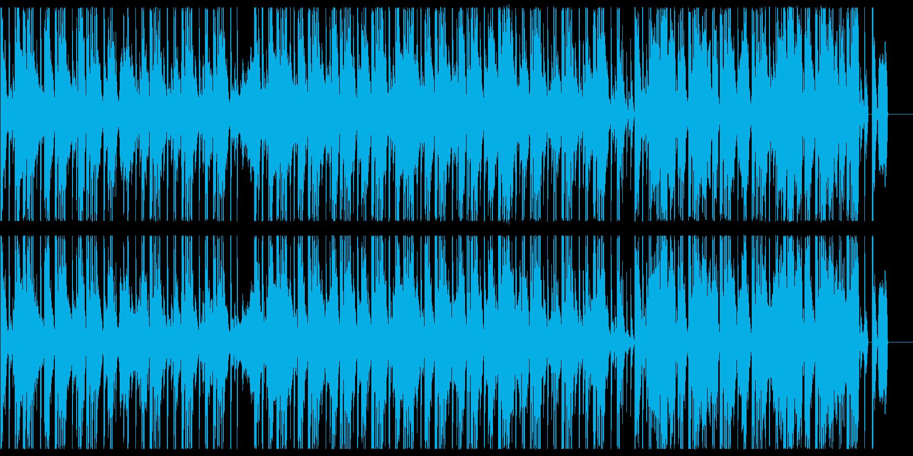 スモーキーでアナログなヒップホップBGMの再生済みの波形