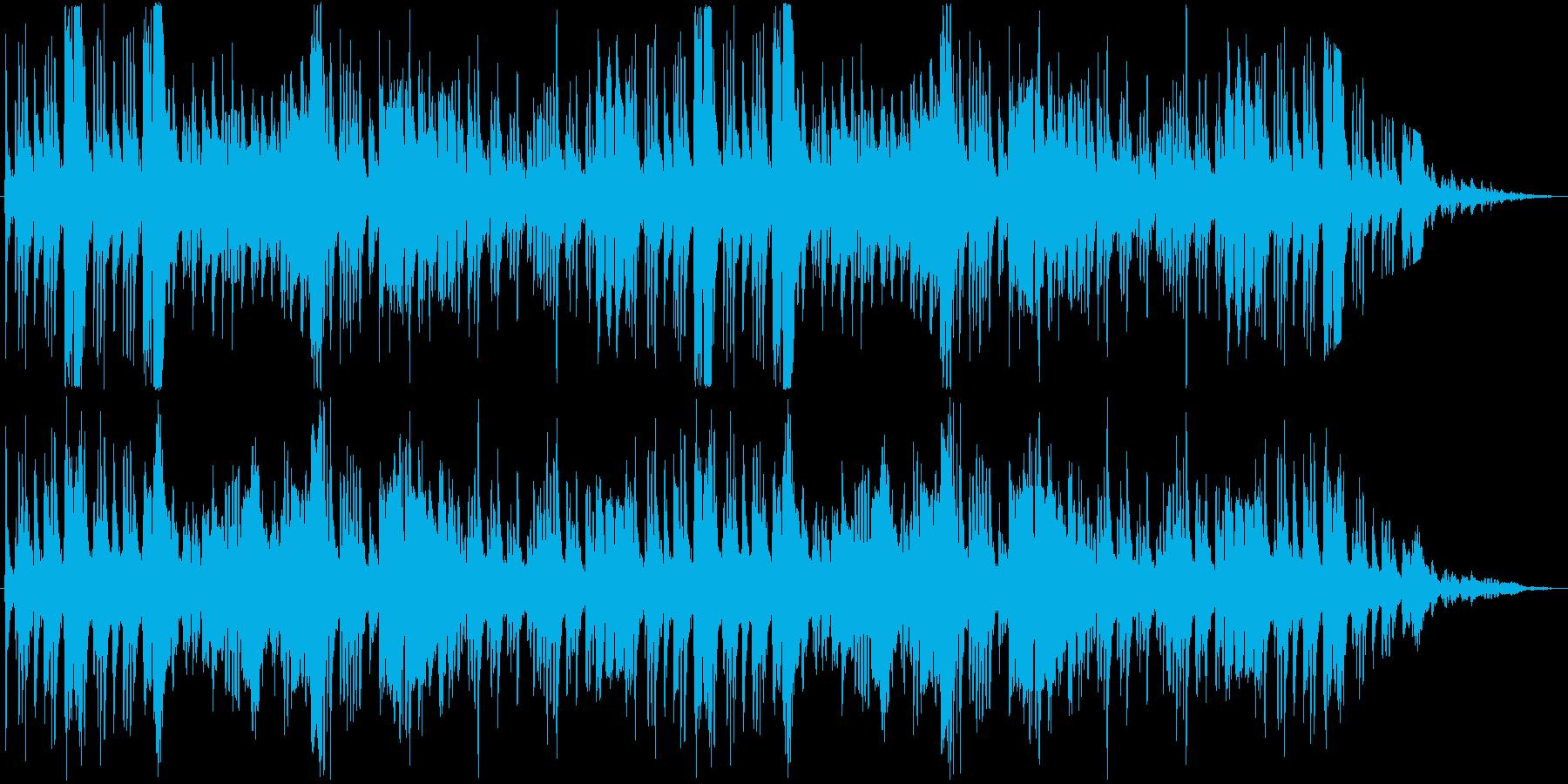 RPGのフィールドBGM風の再生済みの波形