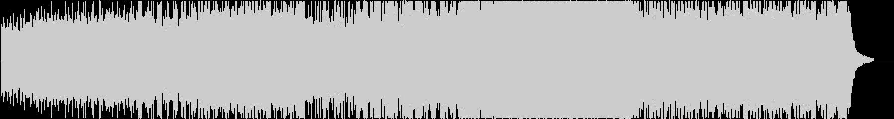 幻想的なピアノとストリングスのBGMの未再生の波形