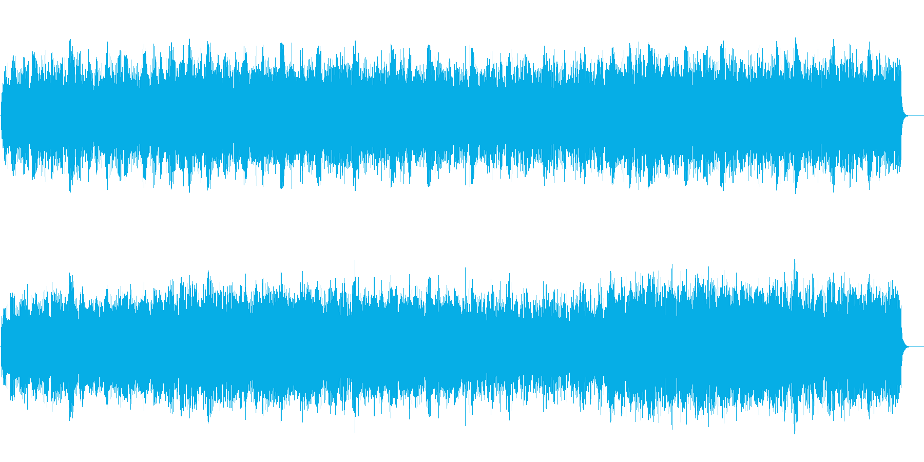宇宙の無限さを伝えるマイナー・サイエンスの再生済みの波形