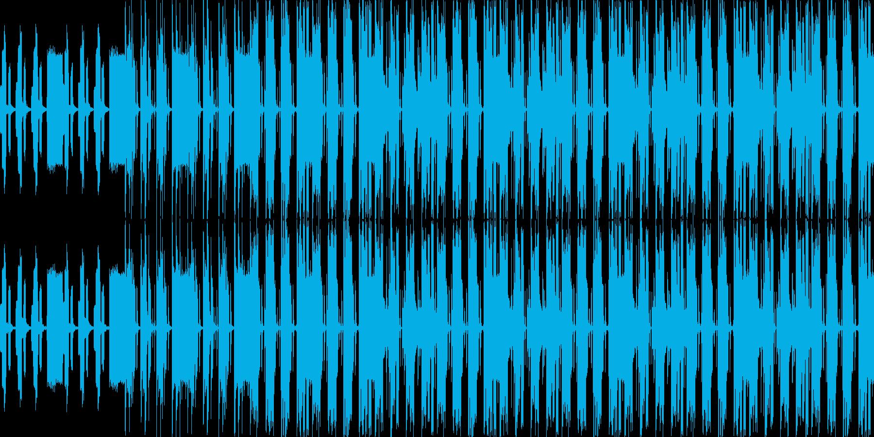 【ゆったり/甘い雰囲気/ポップス】の再生済みの波形