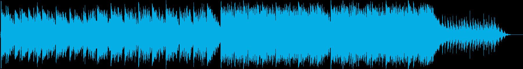 感動的&幻想的なオリエンタルエレクトロの再生済みの波形