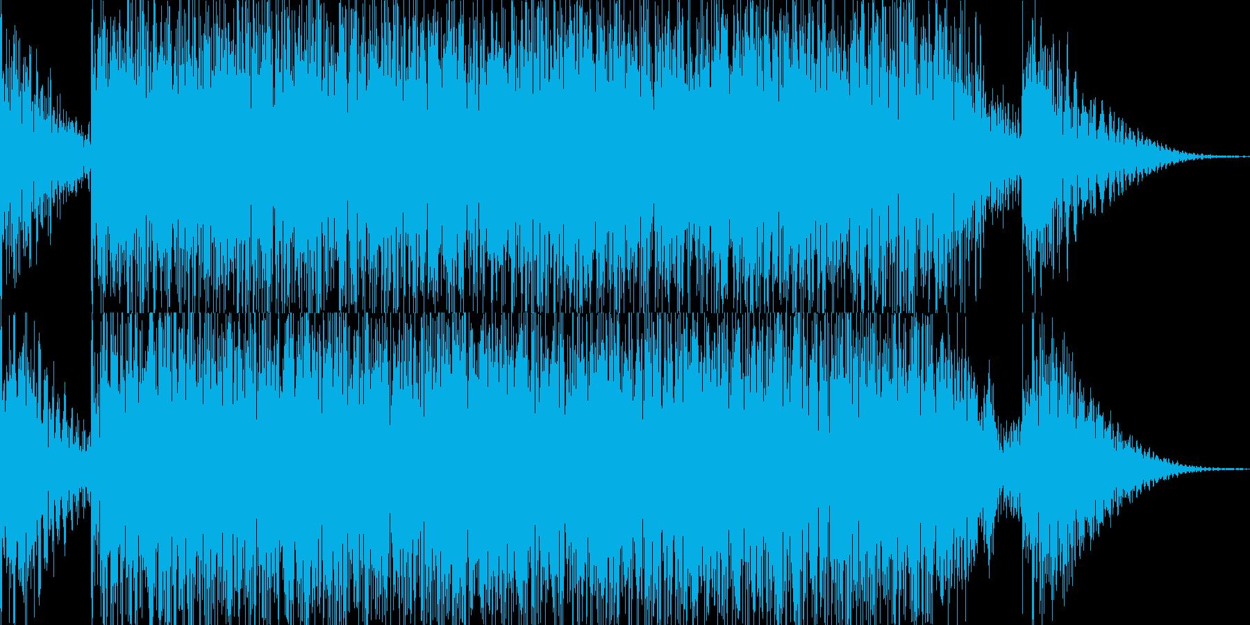 ドコドコドン 太鼓 ドラムロールの再生済みの波形