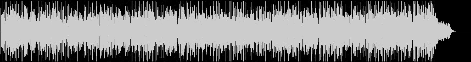 ドラムが軽快で活動的なBGMの未再生の波形