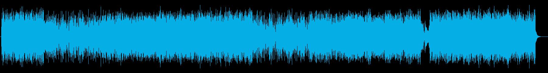 軽快で疾走感あるメロディが特徴のポップの再生済みの波形