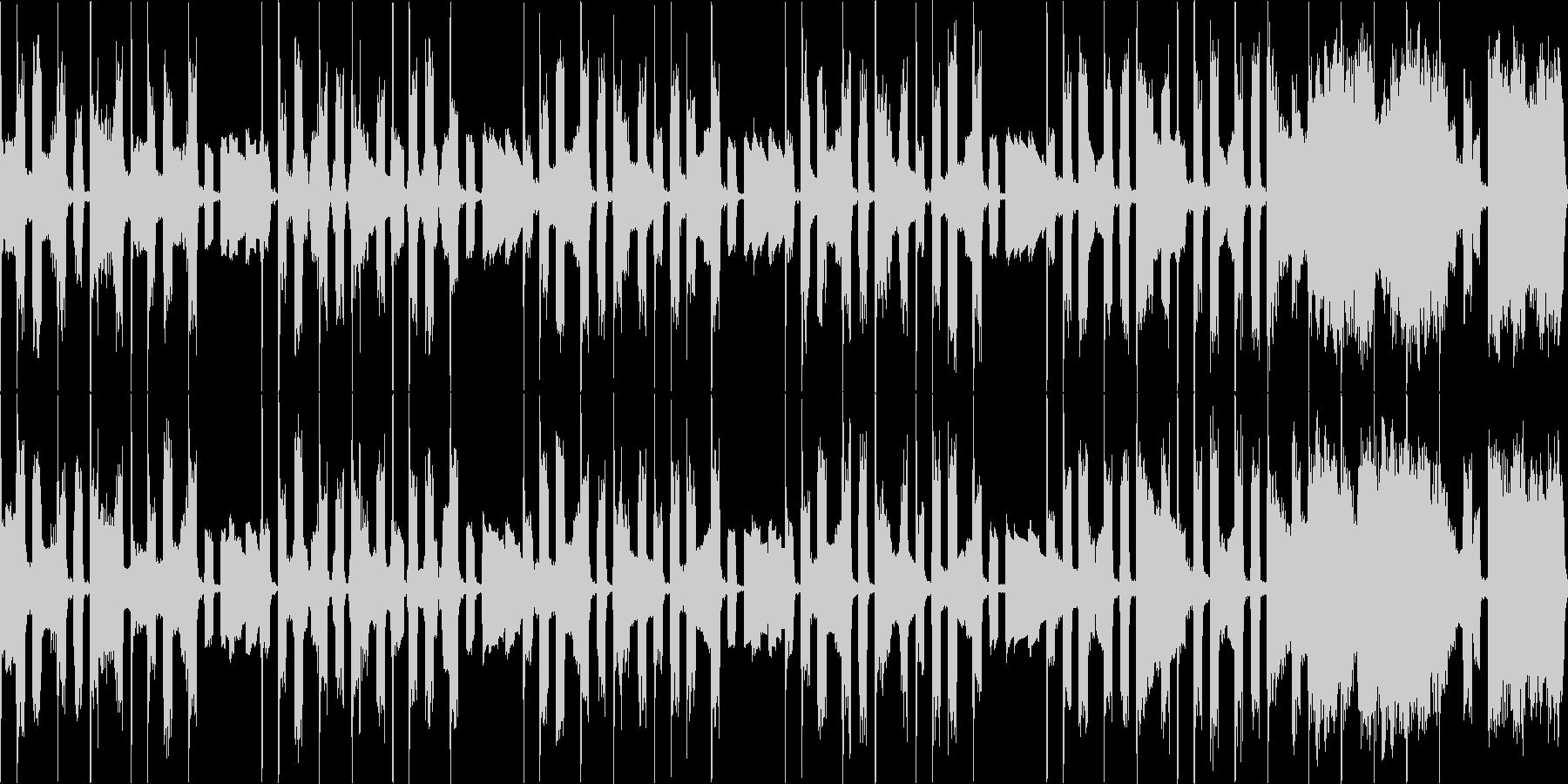 コミカル ループ R&B ラジオ用の未再生の波形