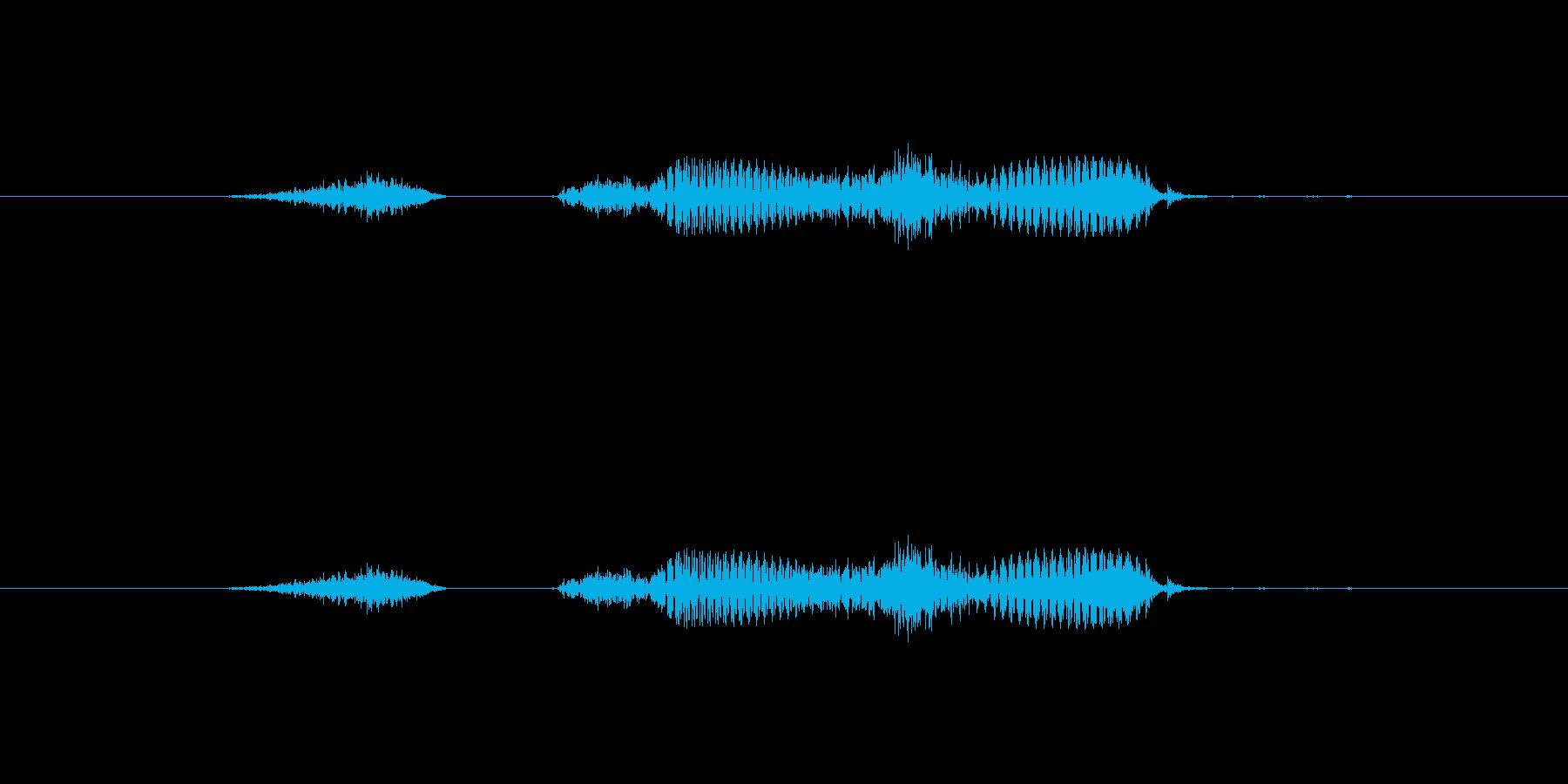 【干支】未の再生済みの波形