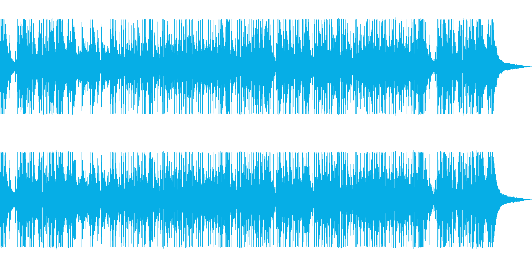 爽やかなリフレッシュギターサウンドの再生済みの波形