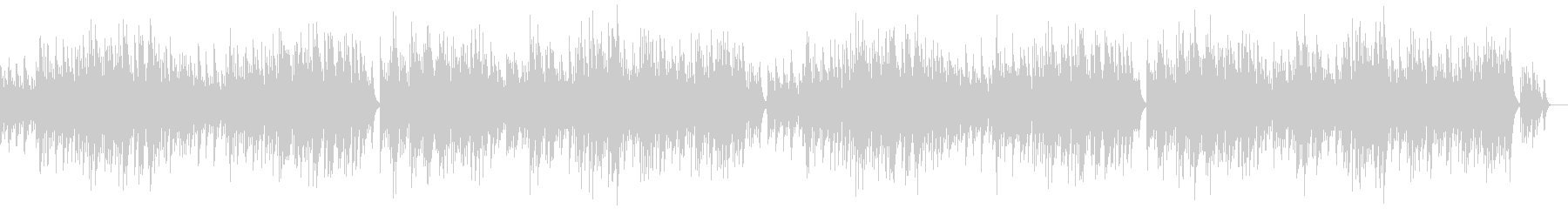 「G線上のアリア」のオルゴールソロの未再生の波形