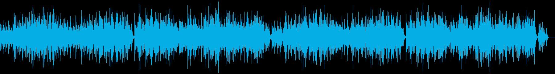 「G線上のアリア」のオルゴールソロの再生済みの波形