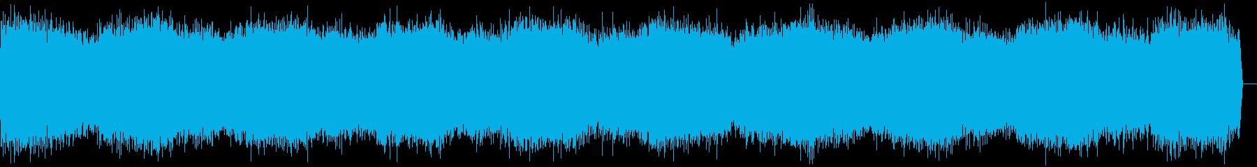 ヒュー(吹雪、風の音)の再生済みの波形
