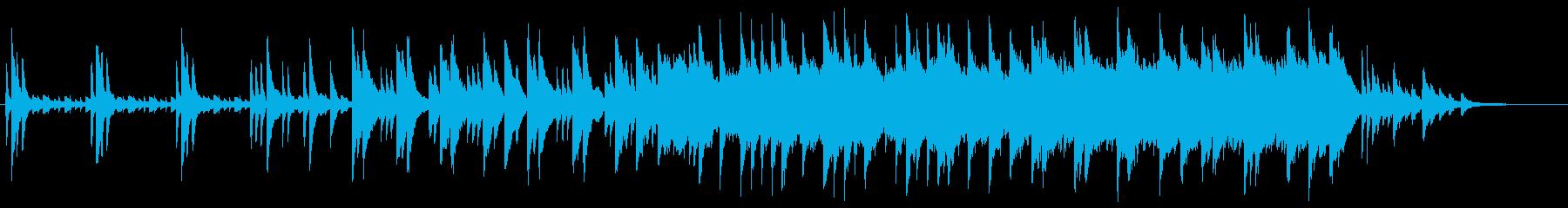 CM 3.夜 静か 星空 ヒーリングの再生済みの波形