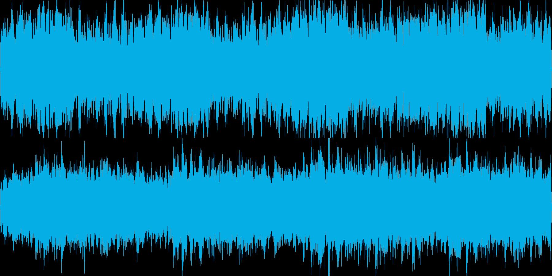 雪のイメージの切ない雰囲気(ループ仕様)の再生済みの波形