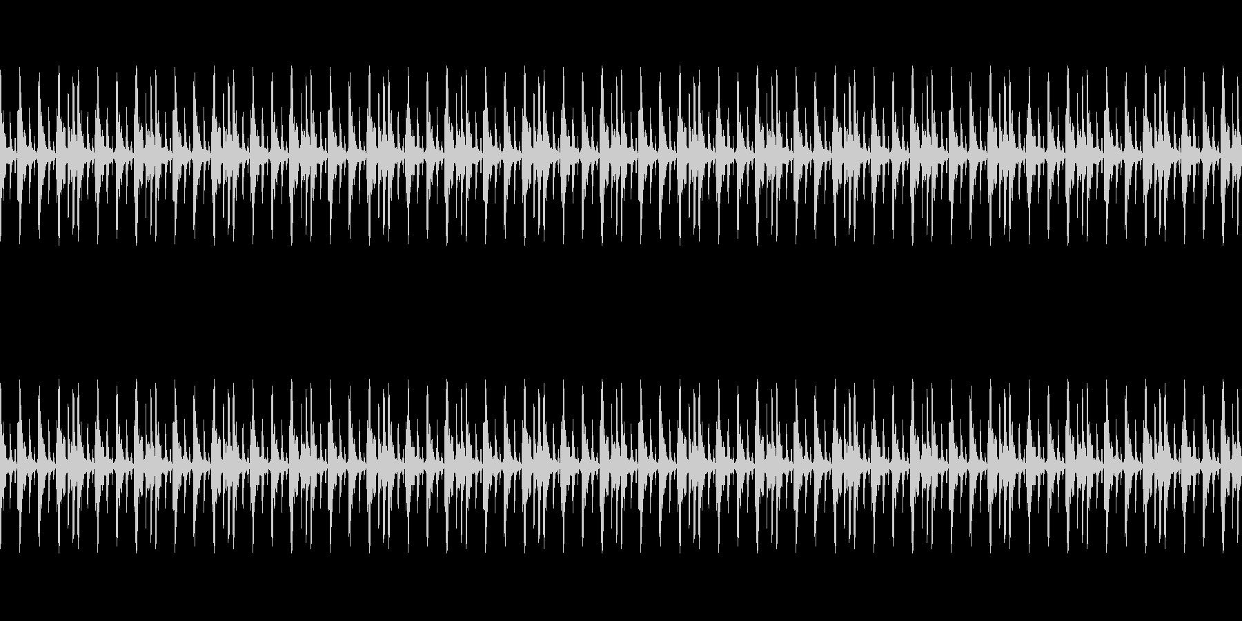 イベントなどに使えるループ仕様サウンドの未再生の波形