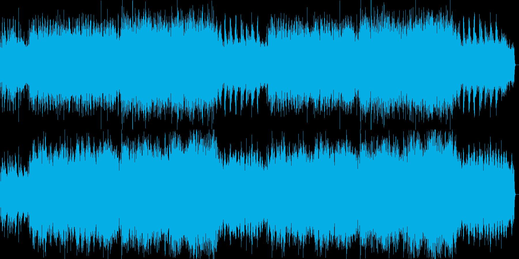 華やかで感動的なライトクラシックの再生済みの波形