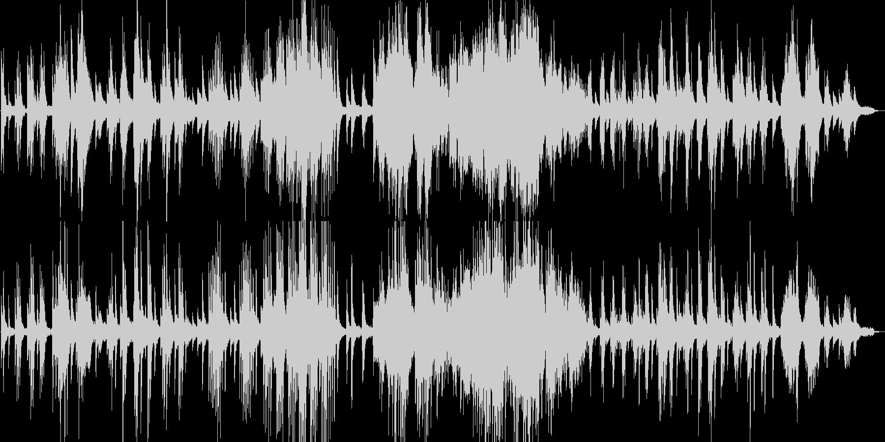 クラシックの有名曲『月の光』ピアノ演奏の未再生の波形