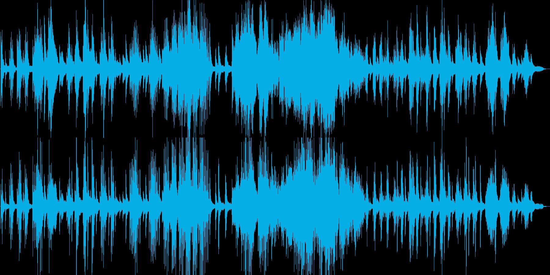 クラシックの有名曲『月の光』ピアノ演奏の再生済みの波形