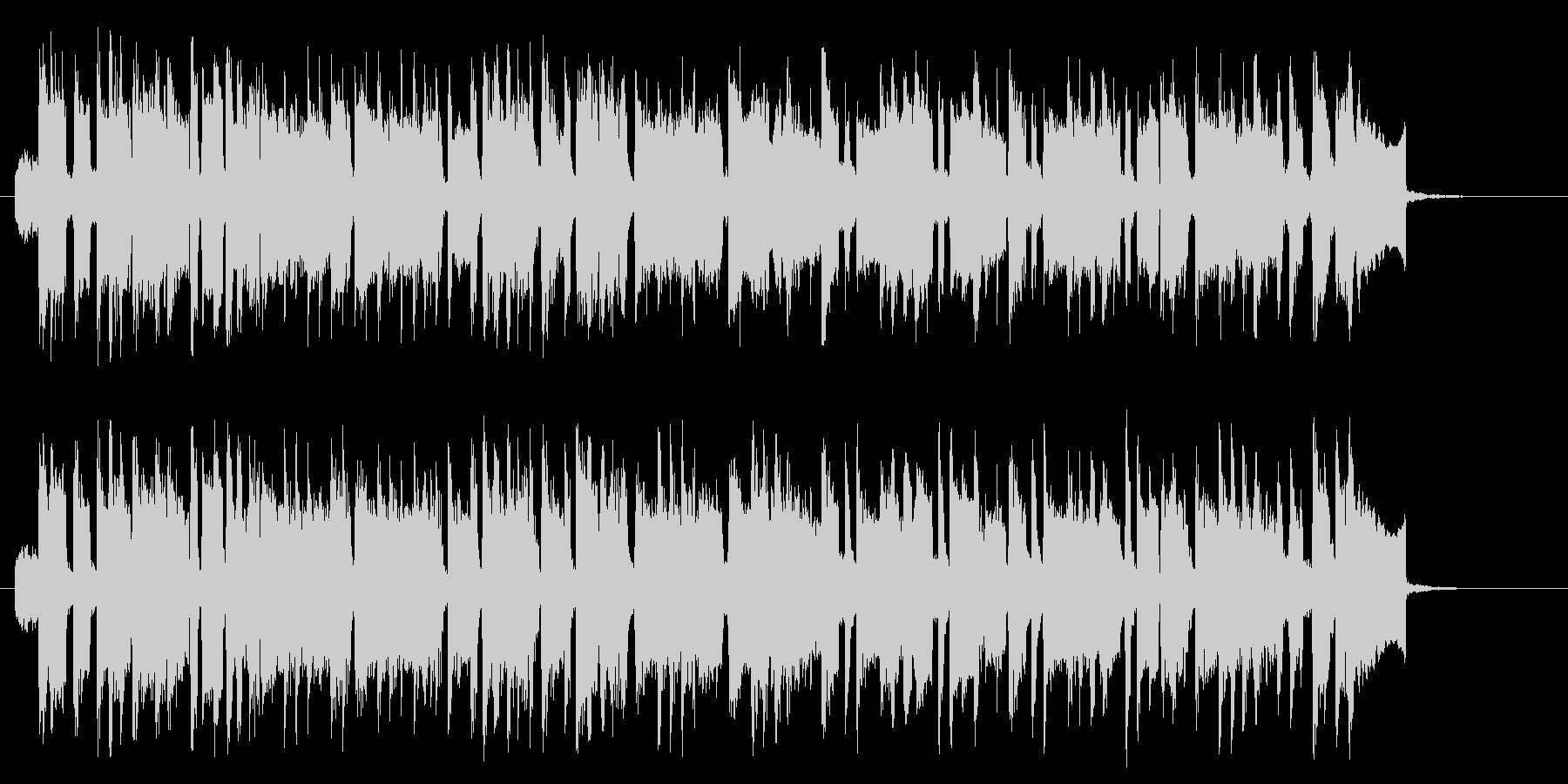 楽しげな印象のシンセポップスの未再生の波形