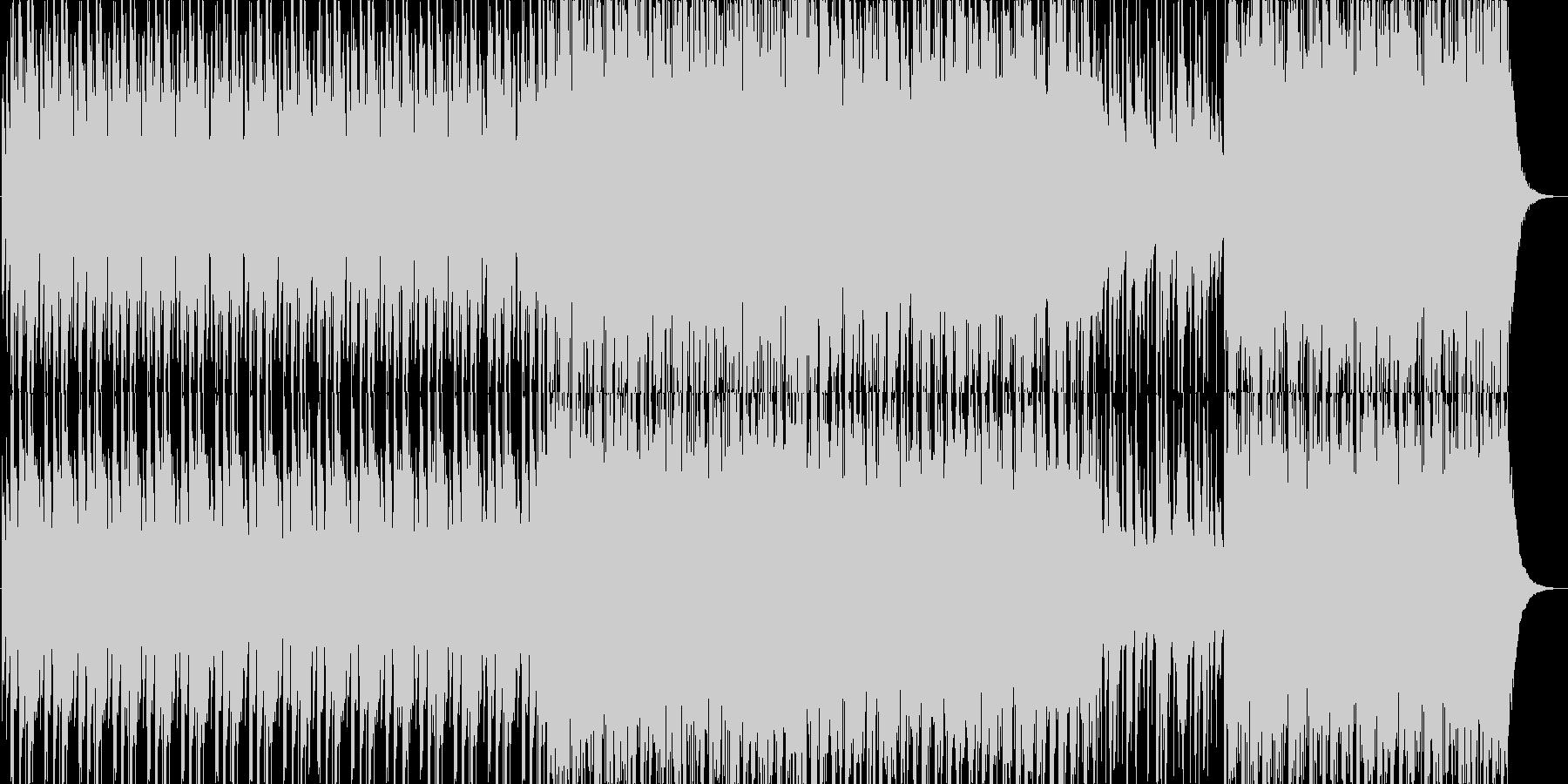 太鼓を使用したBGMです。の未再生の波形