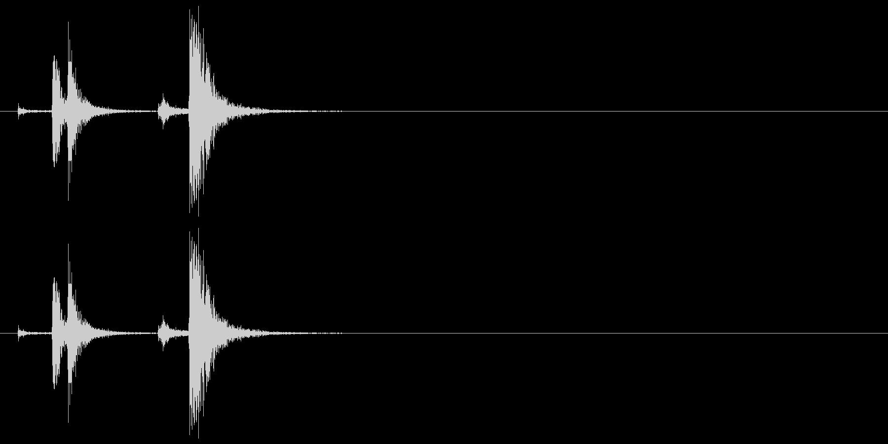 蛍光灯・点ける(ひも式スイッチ)2の未再生の波形